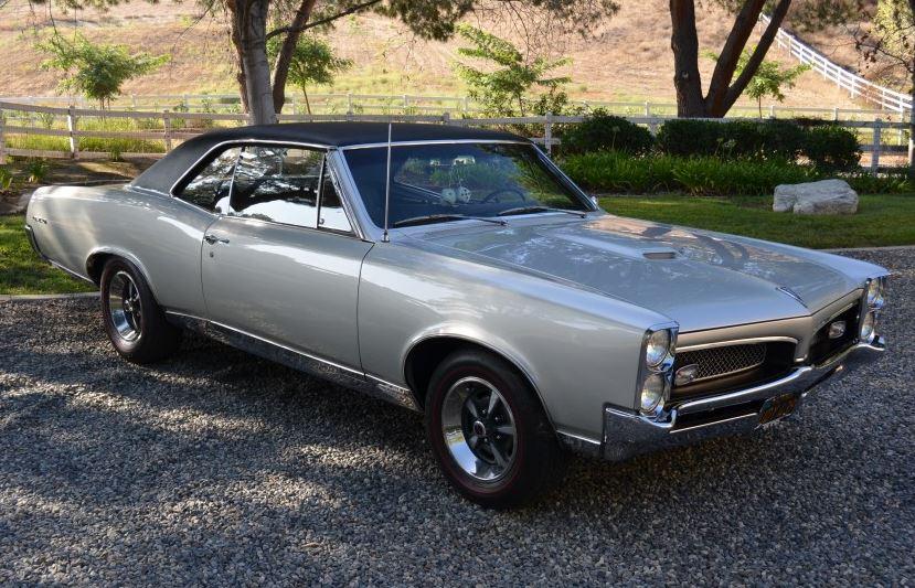 Classic Promenade Classic Cars 1967 Pontiac Gto Calif Since New
