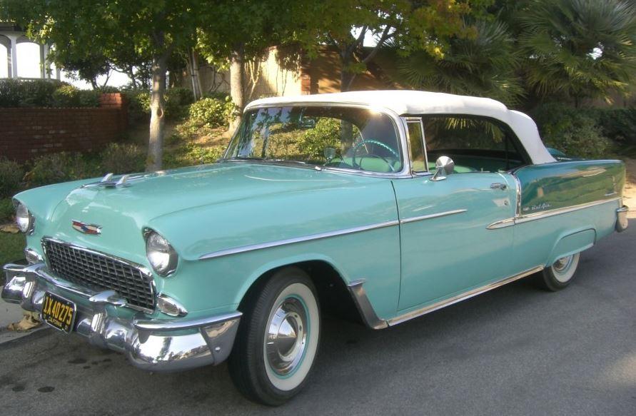 Classic Promenade Classic Cars 1955 Chevy Bel Air Convertible